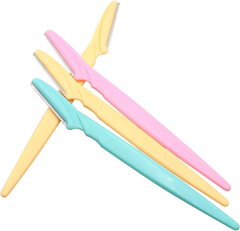 ShinyAmber 6//10//20pcs Sourcils Rasoir Shaper Rasoirs soutiers Toilettage pour Les Femmes et Les Hommes Visage Cheveux Removers