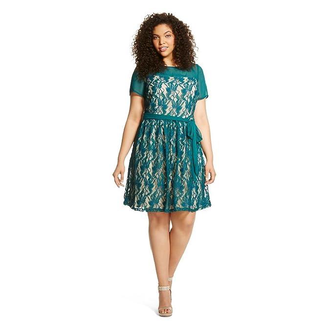 Amazon.com: Melonie T Women\'s Plus Size Dress: Clothing