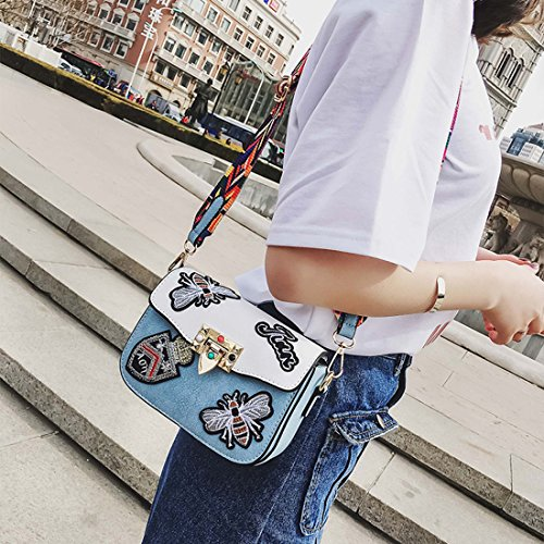 Cross Bags Womens Handbag Shoulder Messager Fashion Designer for body Brown Bag Single IBELLA nxrTXrP