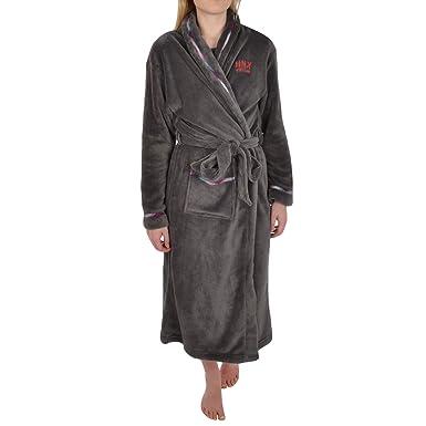 Amazon.com: HNY Vintage Womens Soft Fleece Dressing Gown - L (16-18 ...