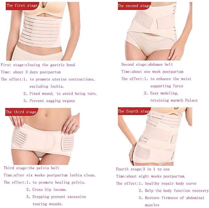 Postpartum Girdle Post Natal Recovery Adjustable Post Pregnancy Body Shaper