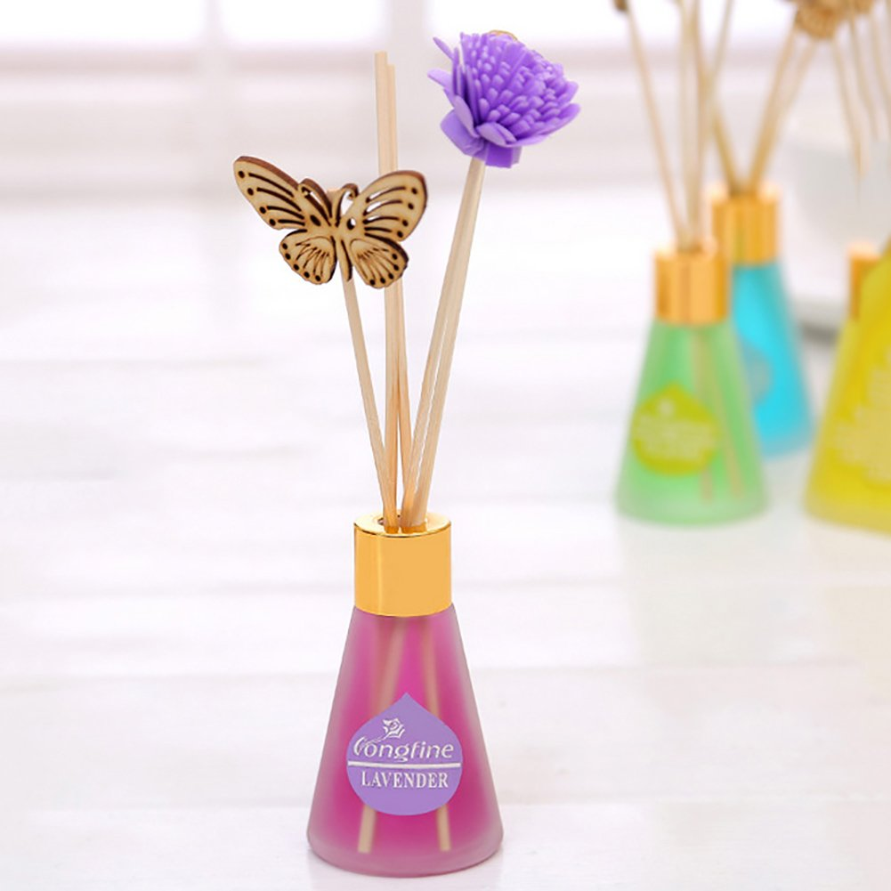 meimeile Reed Diffuser Oil Diffuser B071DBZ5R3 Setホーム装飾no fire Scented Oil空気清浄機 Reed 1 バタフライフラワー B071DBZ5R3, fusion&SUN:e76a7482 --- cosp.top