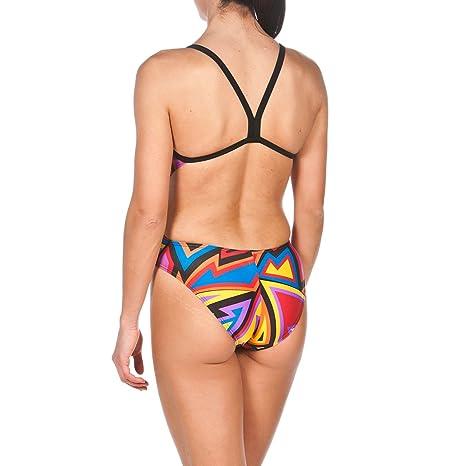 be7eb536de Amazon.com  arena Womens Tulum Challenge Back Onepiece Swimsuit  Sports    Outdoors
