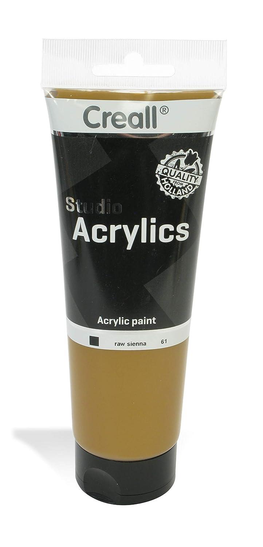 American Educational Products A-33661 Creall-Studio-Acrylics Tube 250Ml 61 Raw Sienna   B00UVAV2J2