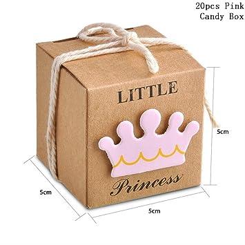 ZMDA - Bolsa de regalo de papel kraft para invitados, fiesta ...
