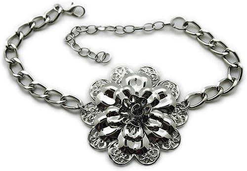 Trendy Fashion Jewelry TFJ Women Western Boot Chain Silver Metal Bracelet Anklet Bling Shoe Ethnic Charm Native Style