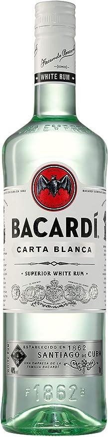 Bacardi Ron Carta Blanca Superior (1 x 1 l)