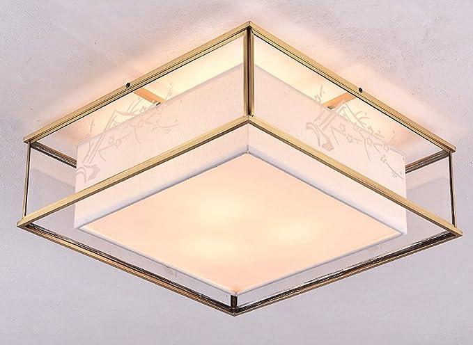 Jcrnjsb nuove lampade da soffitto cinesi salone quadrato luci da