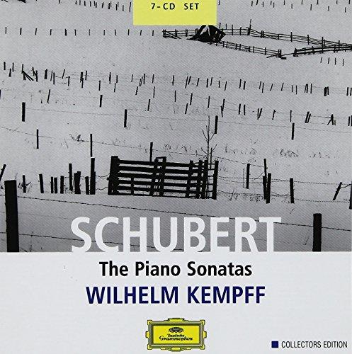 CD : Wilhelm Kempff - Piano Sonatas (Boxed Set, 7 Disc)
