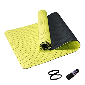 JianMeiHome Yoga Mats Honeycomb Transpirable Fitness Mats ...