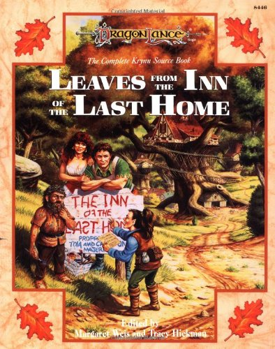 Leaves from the Inn of the Last Home: The Complete Krynn Sourcebook (Dragonlance: Sourcebooks) (v. 1) (The Last Ship Sheet Music)