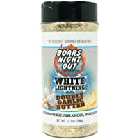 Boars Night Out White Lightning with Double Garlic Butter