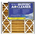 NaturalAire High Efficiency Air Filter, MERV 11, 16 x 25 x 3-Inch, 3-Pack