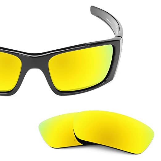 Revant Ersatzlinsen für Oakley Fuel Cell Bolt Gold MirrorShield by1bHVS9V5