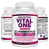 Cheap Vital ONE Multivitamin for Women – Daily Wholefood Supplement – 150 Vegan Capsules – Arazo Nutrition