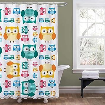 Amazon.com: Amazing Shower Curtains - Owl Shower Curtain 2017 ...