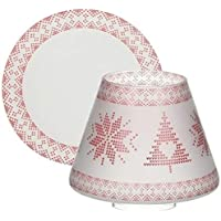 Yankee Candle Mountian Holiday Red Nordic Frosted