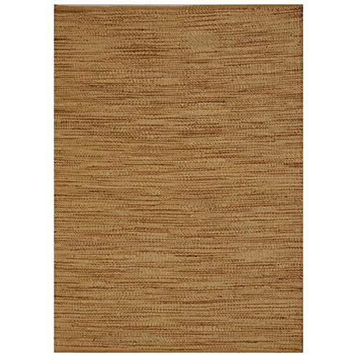 Acura Rugs Natural Jute Collection Area Rug, Hand Woven Jute Rug 6' x 9' Feet / 72