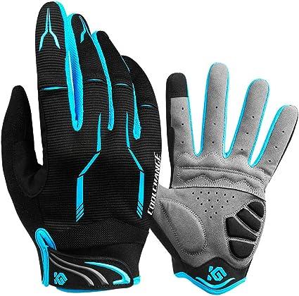 Cool Change Full Finger Bike Gloves Unisex Outdoor Touch Screen