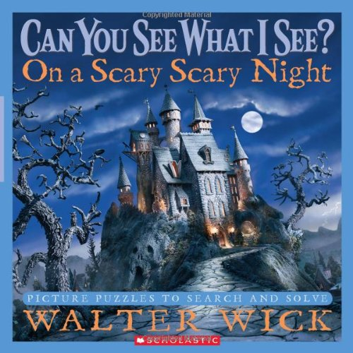 Can You See What I See?: On a Scary Scary Night: Picture Puzzles to Search and Solve -