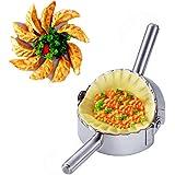 BellaBetty Dumpling Maker - Empanada Press/Stainless Steel Pie Ravioli/Pierogi/Dumpling Mold Wrappers Kitchen…