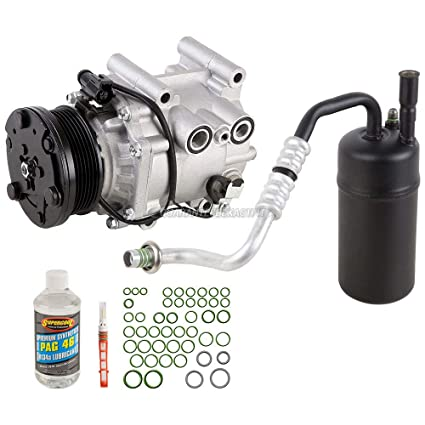 AC Compressor w/A/C Repair Kit For Ford Escape Mazda Tribute Mercury Mariner