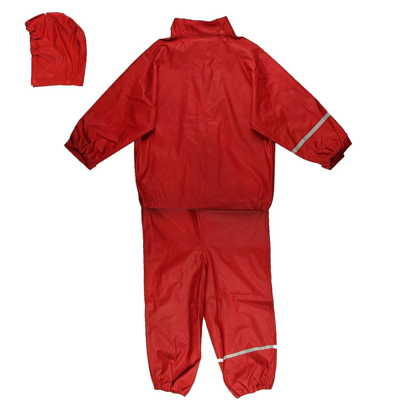 Celavi Basic Rainwear Suit-Solid Impermeable para Ni/ñas