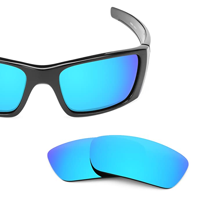 Revant Lentes reemplazo, para Oakley Fuel Cell (Azul Hielo) MirrorShield®: Amazon.es: Ropa y accesorios