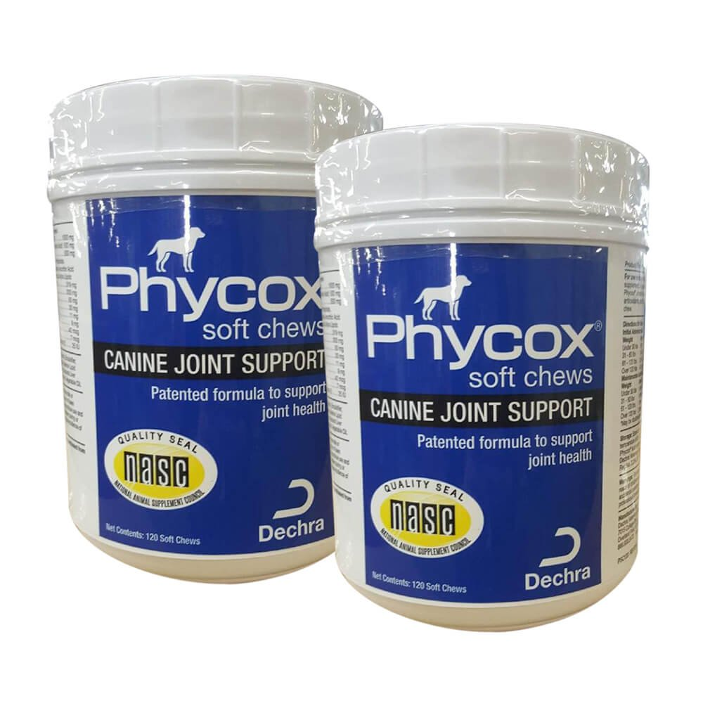 Dechra Phycox Soft Chew 120 ct, 2 PACK