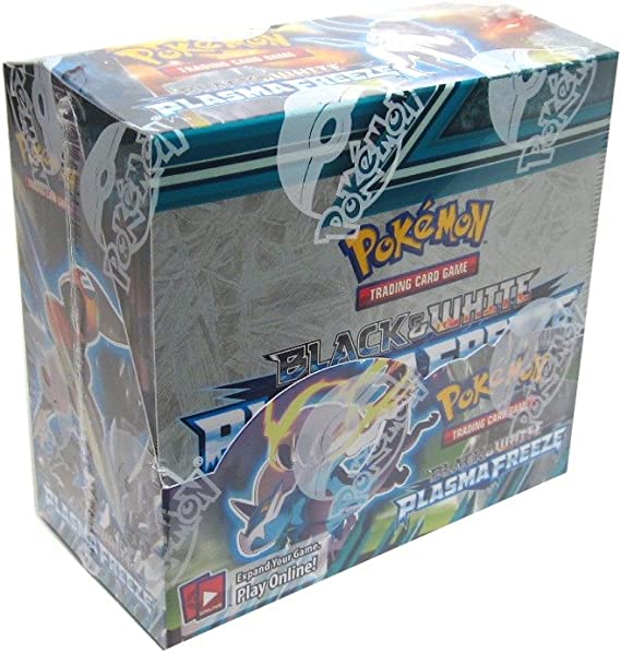 Caja 36 Sobres Pokemon Plasma Freeze Ingles: The Pokemon Company International: Amazon.es: Juguetes y juegos