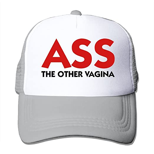 info for f3646 16b9f Ass - The Other Vagina Mesh Trucker Caps Hats Adjustable For Unisex Ash