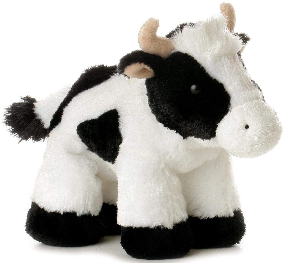 Mini Moo Cow Plush Soft Toy Animal My First Teddy Bear For Girls /& Boys Popular Mini Flopsie Great Gift Idea