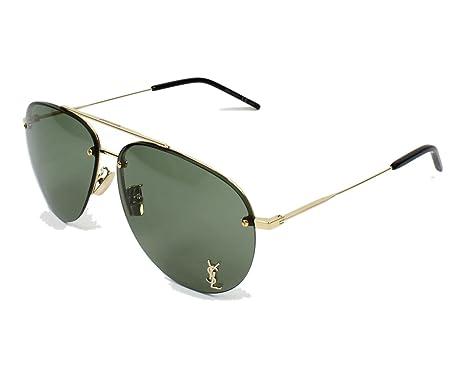 ac10e610e38e Yves Saint Laurent sunglasses (CLASSIC-11-F M 007) Gold - Grey green ...