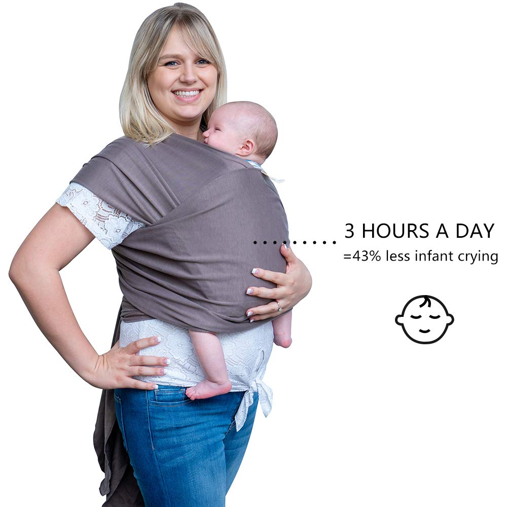 Amazon Com Baby Wrap Carrier Baby Sling Ergonomic Babywearing