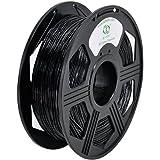 YOYI 3D Flexible TPU 0.8KG 1.75mm Black Flexible TPU 3D Printer Filament, Diameter Tolerance +/- 0.03 mm, 0.8KG Spool, 1.75 mm, Black
