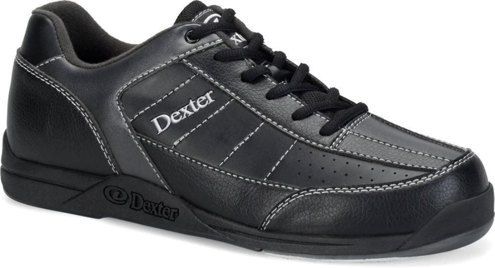 Zapatos para bolos Dexter Ricky III para hombre - B1837-5M-75, Negro (Black/Alloy) Daytona Wholesalers Inc DX18375 075