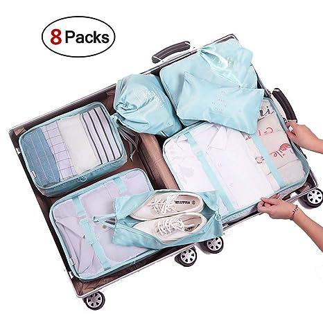 Organizador de Equipaje, Organizador de Maleta Bolsa,Cubos de Embalaje para Viaj, Equipaje de Viaje Organizador, Organizadores de, Viaje para Maletas, ...