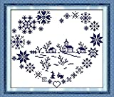 Good Value Cross Stitch Kits Beginners Kids Advanced -Love Village 11 CT 16