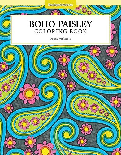 Boho Paisley Coloring Color Studio product image