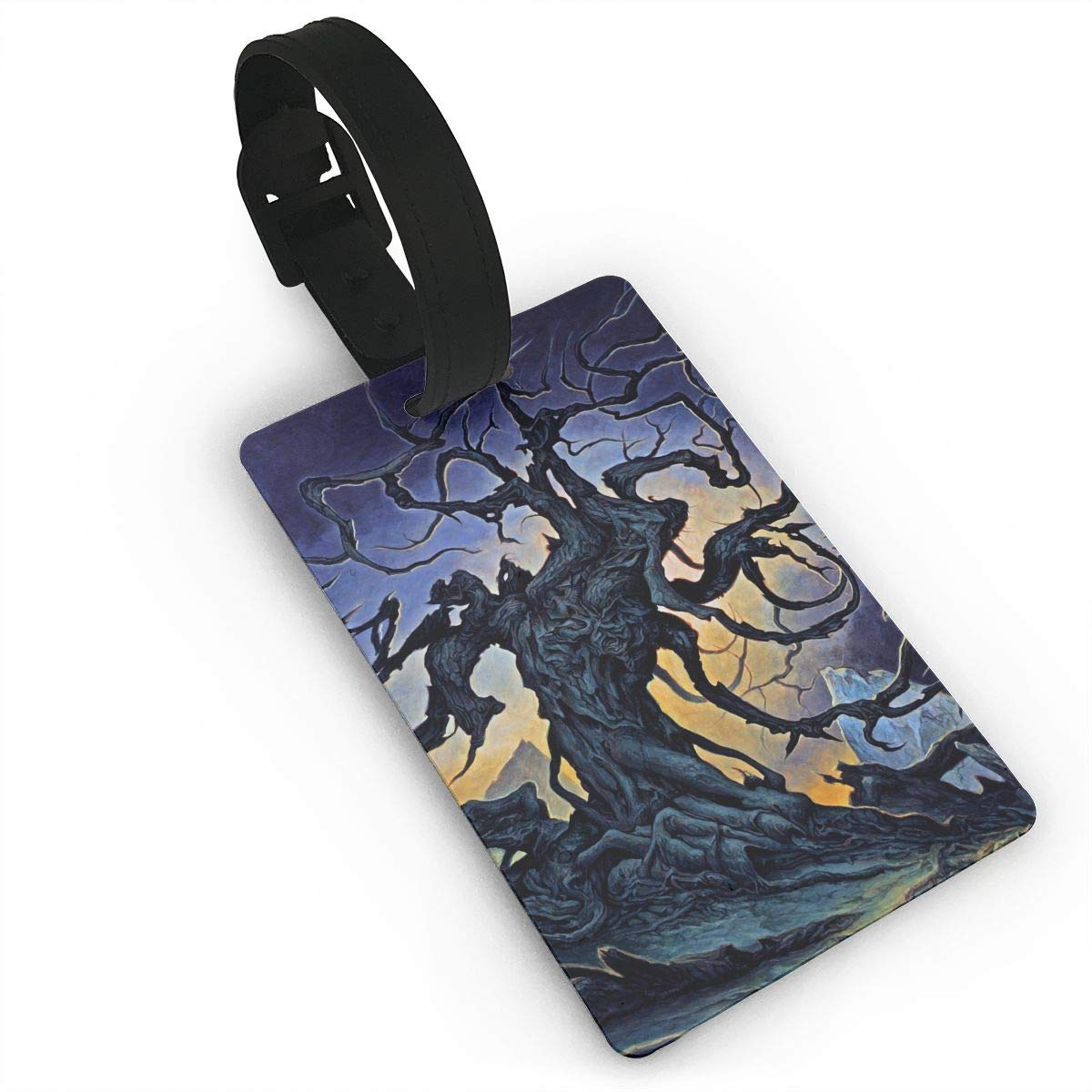 2 Pack Luggage Tags Tree Roots Cruise Luggage Tag For Travel Bag Suitcase Accessories