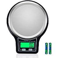 Diyife Báscula de Cocina 5kg/0.1g, Báscula Digital de Cocina con Pantalla LCD, Bascula de Comida Alimentos Multifunción…