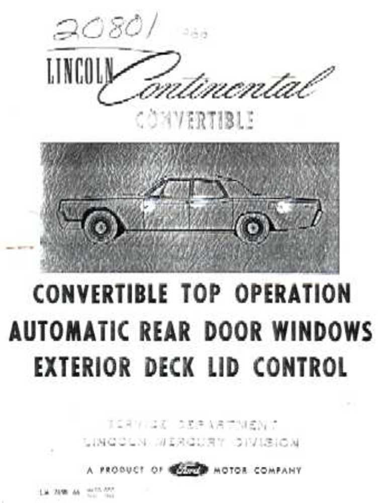 amazon com: bishko automotive literature 1966 lincoln convertible  electrical wiring diagrams schematics manual book oem: automotive