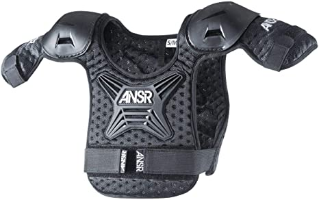 Answer Racing Pee Wee Roost Youth Off-Road Motocycle Deflector Black//Small//Medium