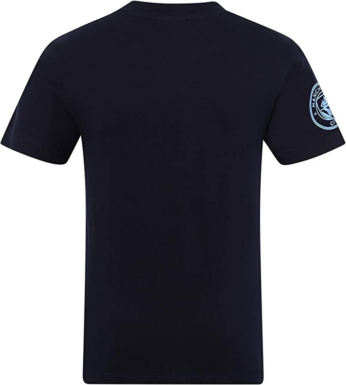 Manchester City FC - Camiseta Oficial Serigrafiada - para niño - 8 ...