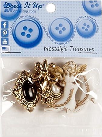 Dress It Up Embellishment Buttons Nostalgic Treasures
