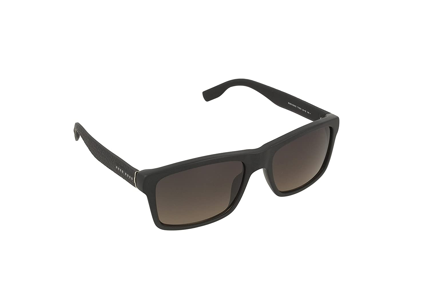 5caa12c06099 Amazon.com: Hugo Boss 0509S T7O Matte Black 0509S Square Sunglasses Lens  Category 3 Size 55: Clothing