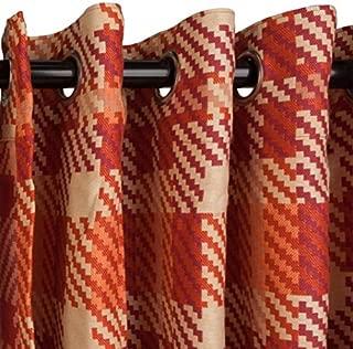 product image for Hatteras Hammocks Pinnacle Fiesta Sunbrella Nickel Grommeted Curtain 120 Long