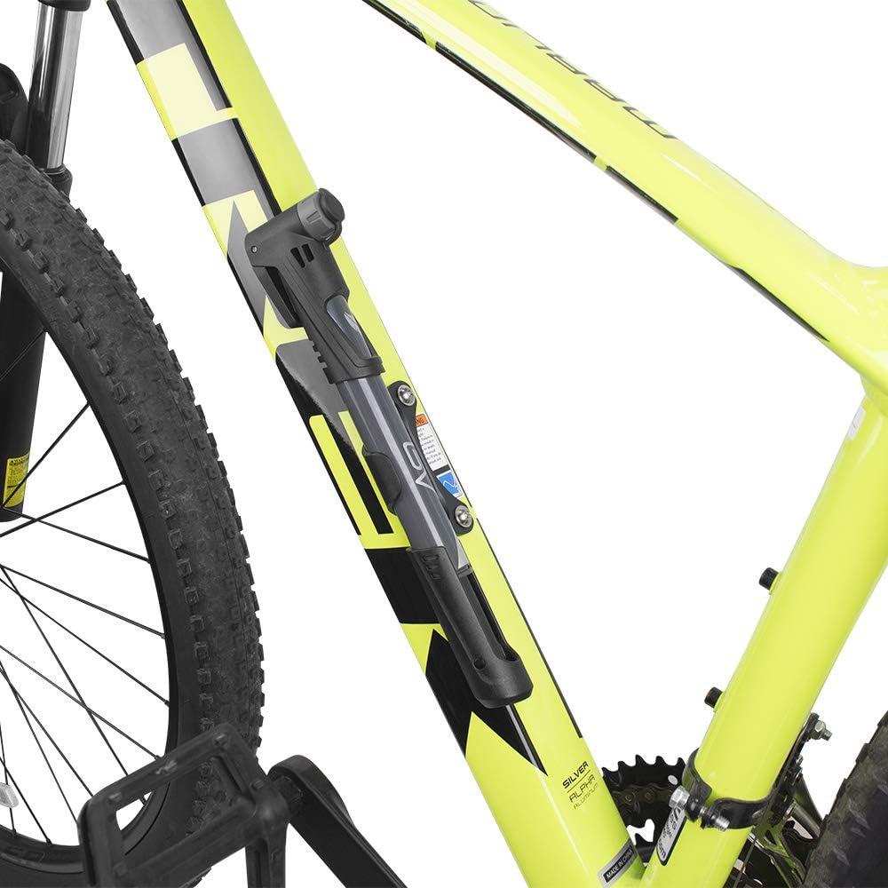 v/álvula inteligente compatible con Presta y Schrader alta presi/ón 120 PSI BV Mini bomba de bicicleta bomba de marco port/átil