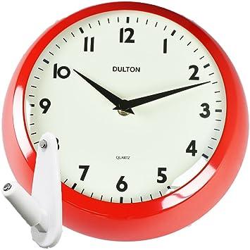 c61c384956 Amazon|DULTON ウォールクロック S52639 + 壁の穴が目立ちにくい時計用 ...