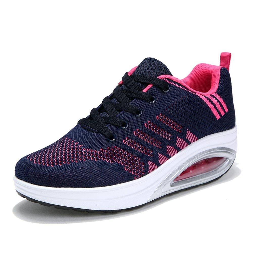 Femme Chaussure Gothique pour Multisport Outdoor Basket Respirant Pied Large Antichoc Sneakers Running Endurance 35-42(Recommandez la Taille Un de Plus)